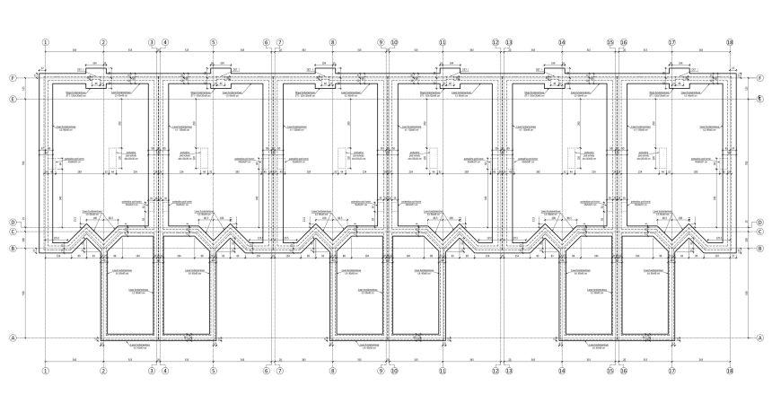 Poważne Zespół 4 Budynków Mieszkalnych Jednorodzinnych w Zabudowie QG34